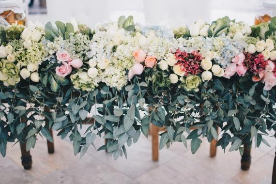 7 ideas de paletas de colores para tu boda par Leidis Leguia sur Cartagena Weddings
