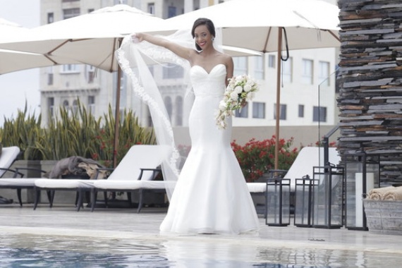 Highlight your Curves with a Mermaid Wedding Dress By Leidis Leguia on Pagephilia